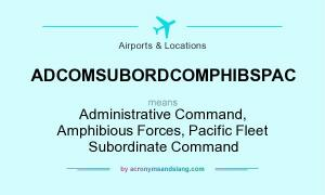 ADCOMSUBORDCOMPHIBSPAC meaning - what does ADCOMSUBORDCOMPHIBSPAC stand for?