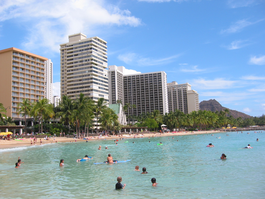 Hawaii Destination Marketing SEO and a Beach