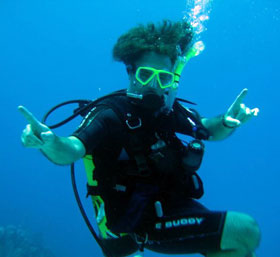 dan dreifort is for scuba