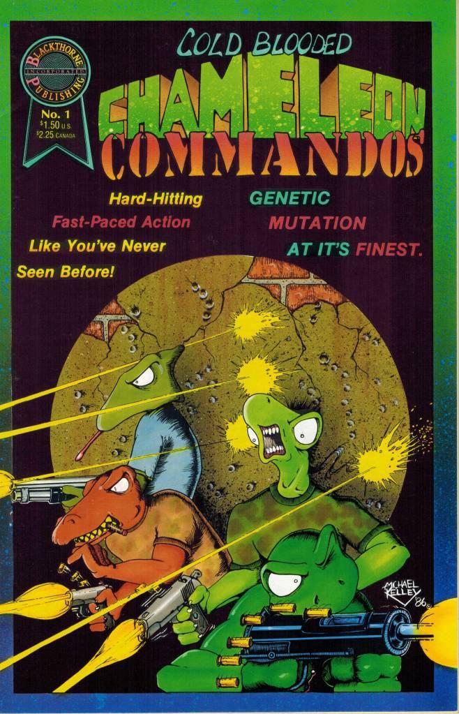 cold blooded chameleon commandos 1