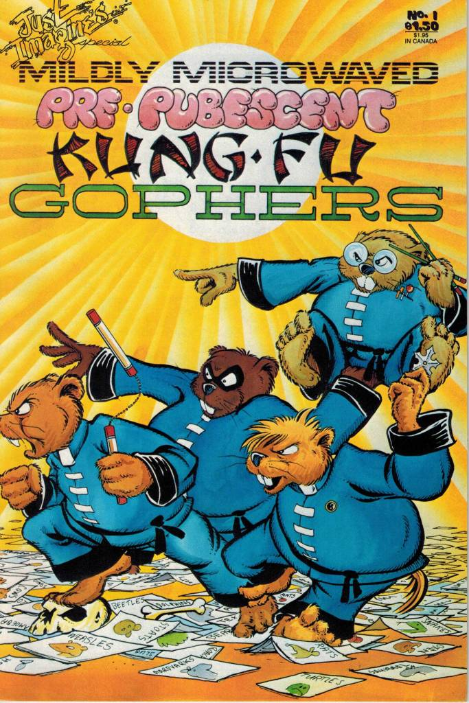 Mildly Microwave Pre-Pubescent Kung Fu Gophers 1