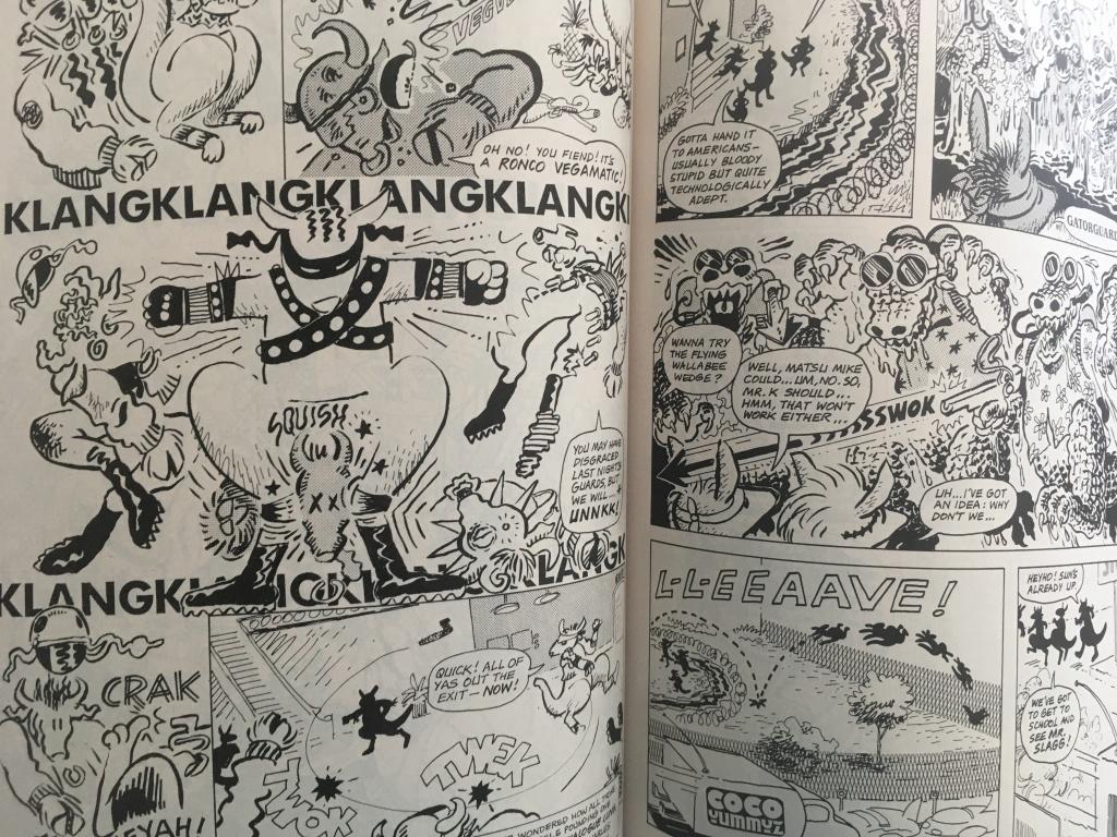 inner page pree-teen dirty-gene kung-fu kangaroos