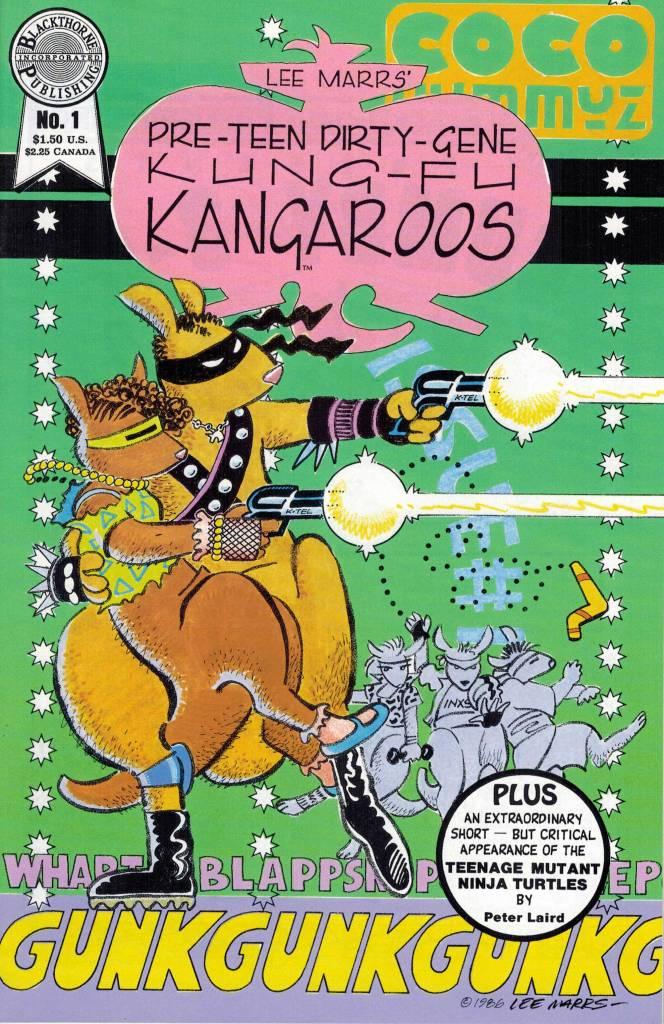 pree-teen dirty-gene kung-fu kangaroos